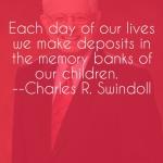 Charles Swindoll – Making Deposits