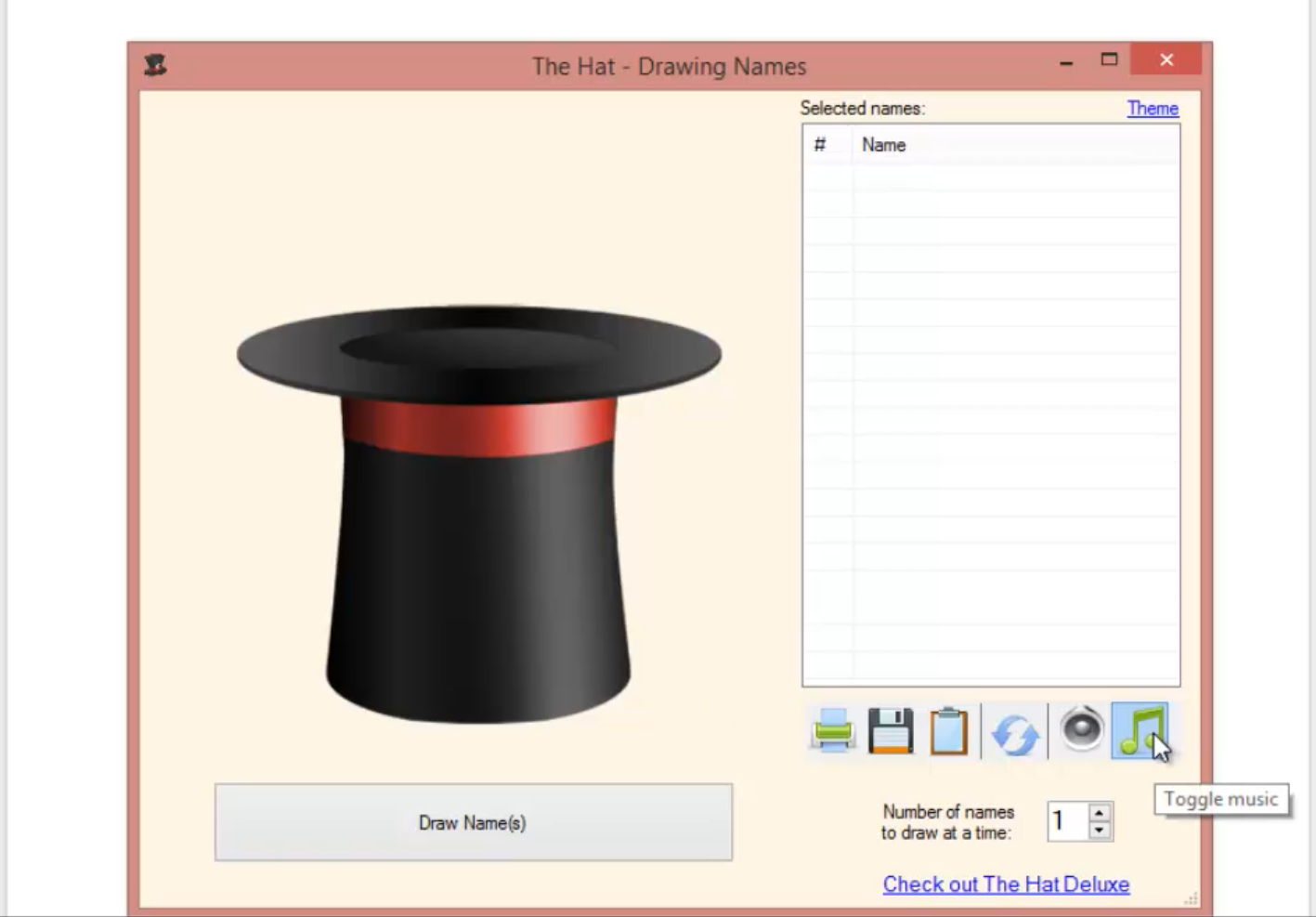 Draw Names From a Hat – Tech Tip Thursdays