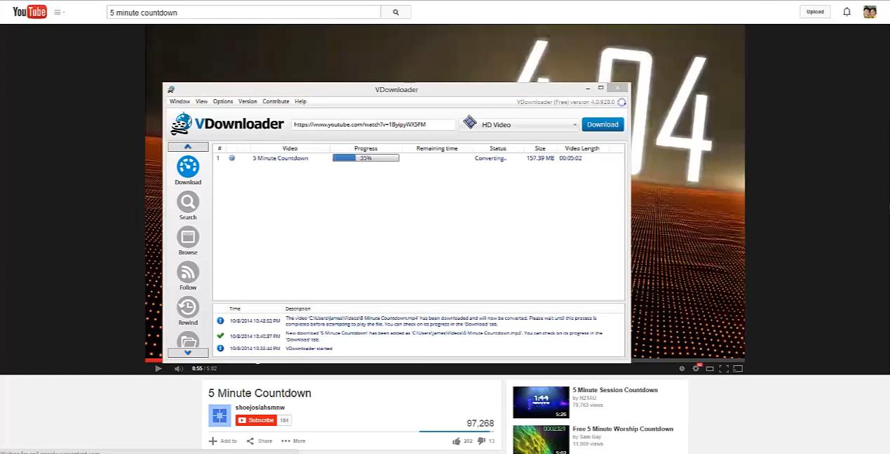 Downloading Videos From Youtube – Vdownloader – Tech Tip Thursdays