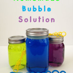 How to Make A Bubble Solution