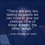 Johann Wolfgang Von Goethe – What to Give Our Children