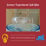 Science Experiment: Salt Glue