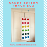 Candy Button Punch Box