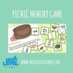 Picnic Memory Game