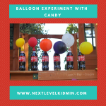 Balloon Experiment with Candy
