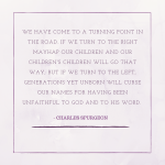 A Quote from Charles Spurgeon