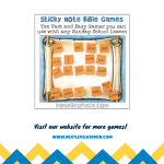 Sticky Note Bible Game