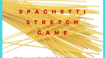 Spaghetti Stretch Game